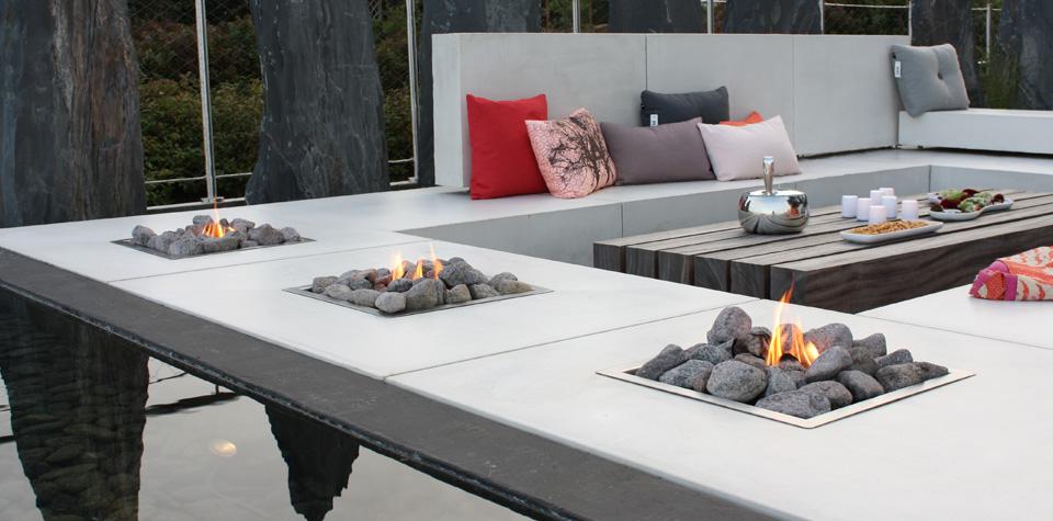 BÃ¥lplads ved loungen   minimalistisk havedesign